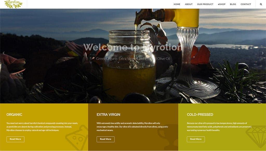 Myrolion official WEBsite