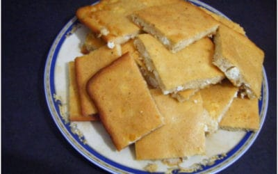 """Lazy cheese pie"" – Zymaropita"