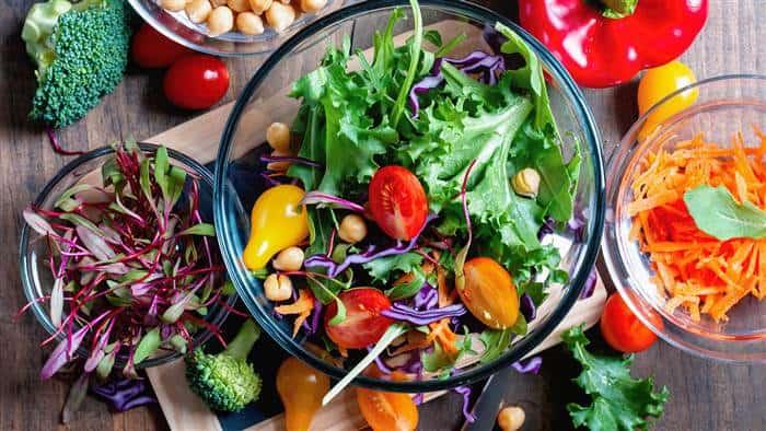 Healthy Med salad