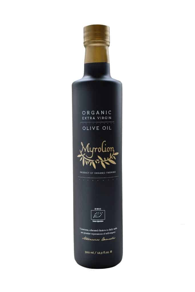 High Phenolic Organic Extra Virgin Olive Oil Myrolion 500ml