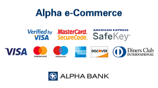 All card payments are processed through Alpha Bank's Alpha e-Commerce electronic payment platform and uses TLS 1.2 encryption with Secure Sockets Layer (SSL) 128-bit encryption protocol. Encryption is a way to encode the information until it reaches its intended recipient, which will be able to decode it using the appropriate key.