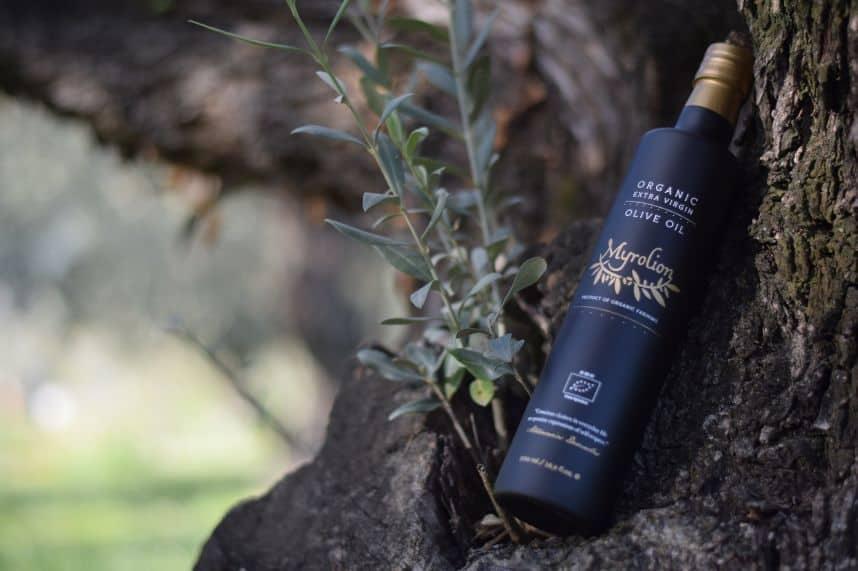 Myrolion Olive oil. Greek Organic High Phenolic EVOO