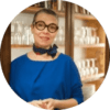 Sophie Delpuech Reviews Myrolion Organic Extra Virgin Olive Oil