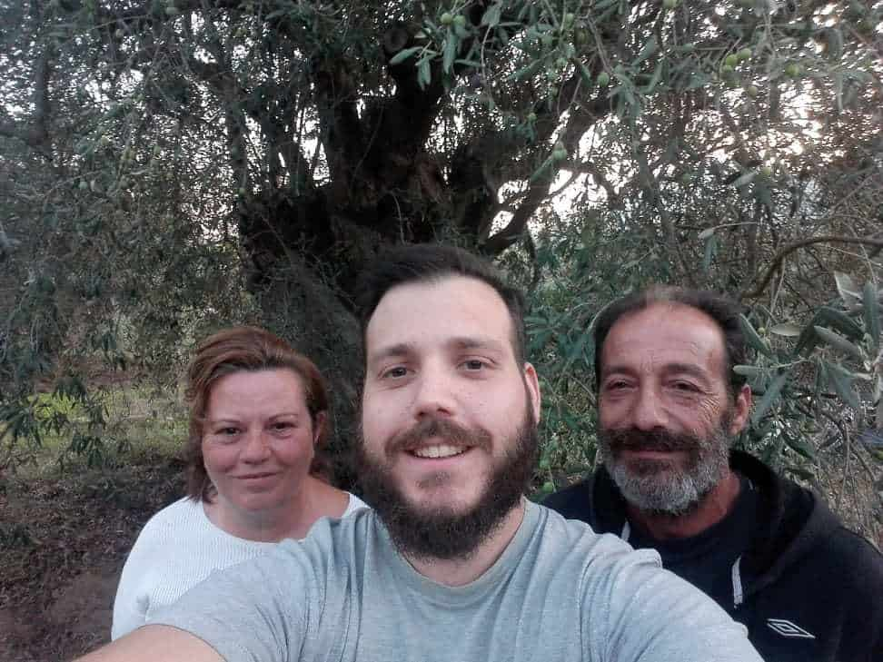 Myrolion Family Produces fresh pressed olive oil