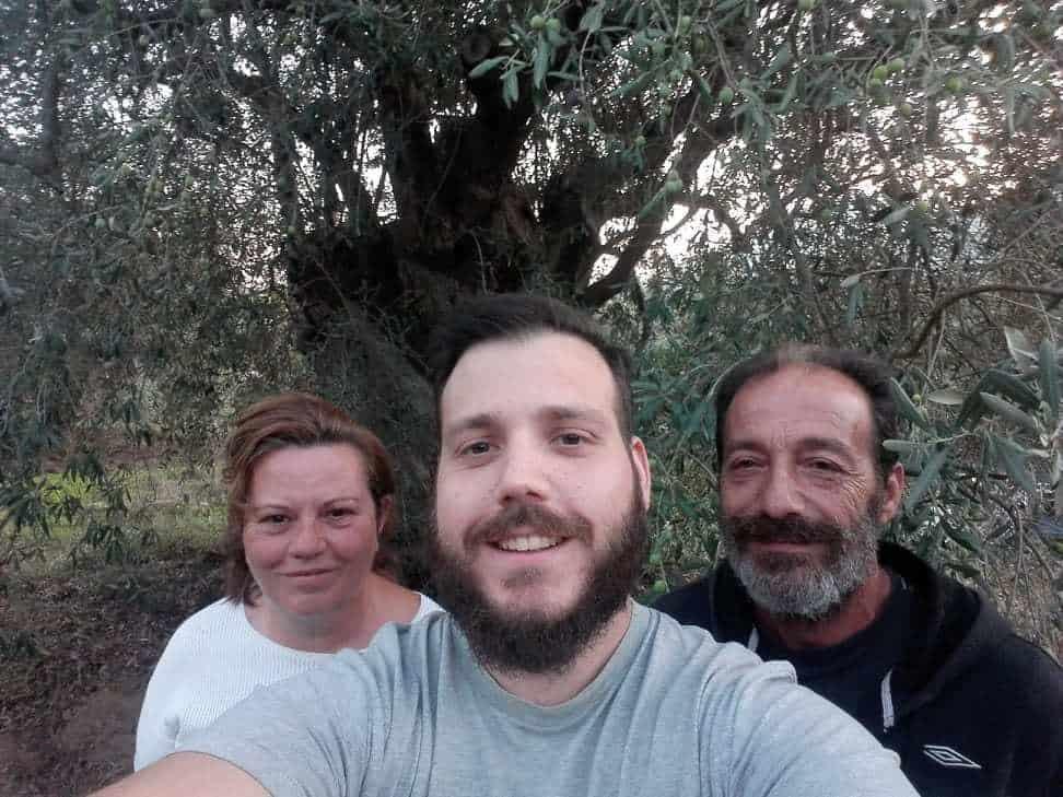 Myrolion Family Produces fresh pressed olive oil