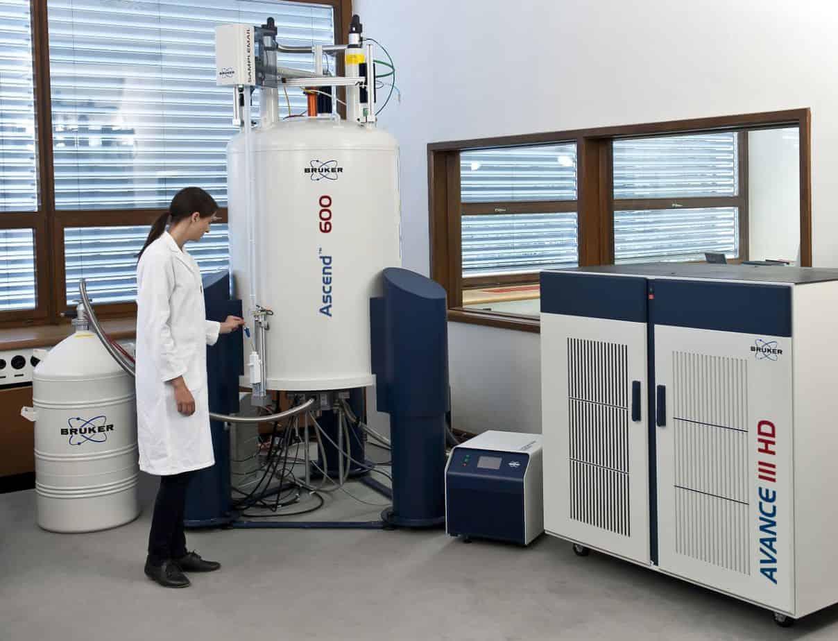NMR Spectrometer is used to analyze phenolic profile of high phenolic olive oil